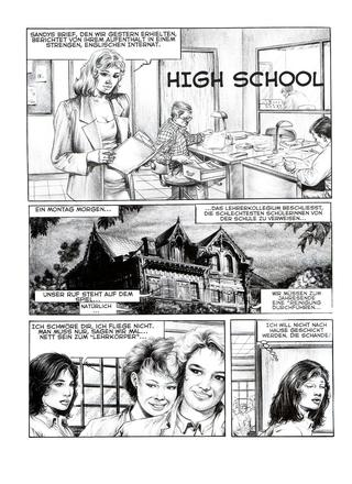 High School by Aubert