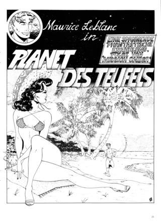 Maurice Leblanc in Planet des Teufel 1 von Demis Sire