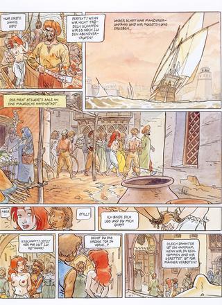 Robinsonne die Schiffbruechige von Eric Maltaite