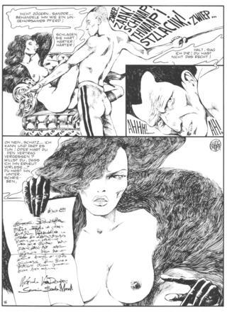 Venus im Pelz von Guido Crepax