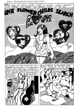 Eines Blumenkindes Suche nach Liebe von Irina