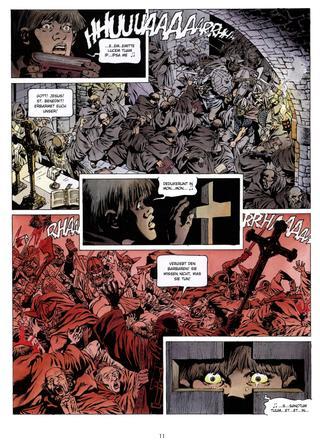 Chronik der Barbaren 1 Die Wut der Wikinger von Jean-Yves Mitton