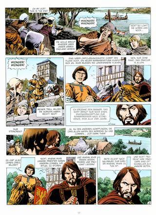Chronik der Barbaren 5 Im Namen der Wikinger von Jean-Yves Mitton