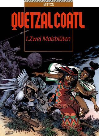 Quetzalcoatl 1 Zwei Maisblueten von Jean-Yves Mitton