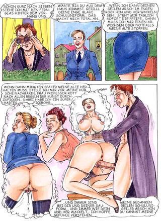 Pussy-Comic 1 von Kurt Marasotti