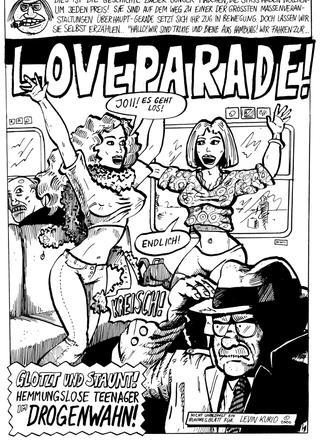 Loveparade von Levin Kurio