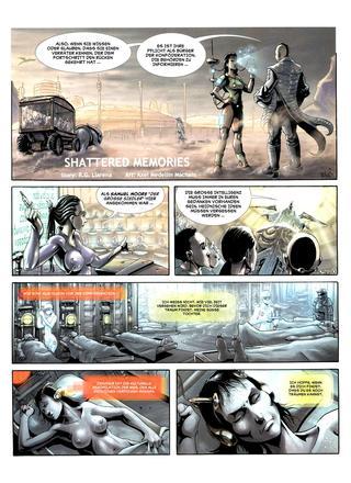 Shattered Memories von Llarena, Axel Medellin Machain