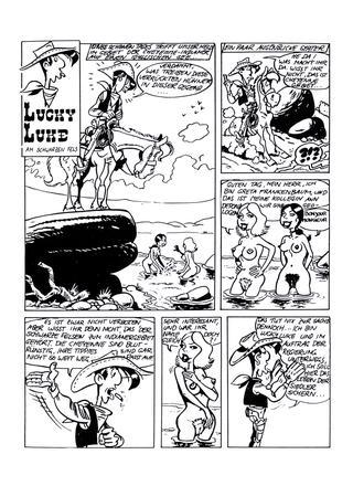 Lucky Luke am Schwarzen Fels von Lucky Luke