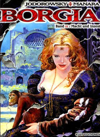 Borgia 2 von Milo Manara