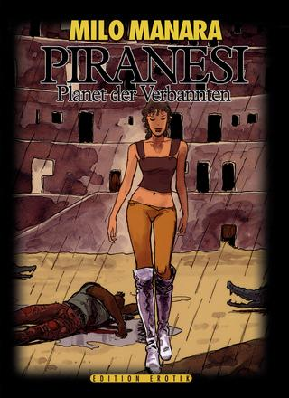 Piranesi Planet der Verdammten van Milo Manara