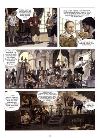 Caravaggio von Milo Manara