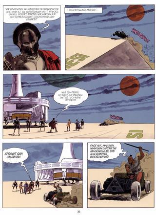Piranesi Planet der Verdammten von Milo Manara