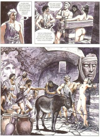 Der Goldene Esel von Milo Manara