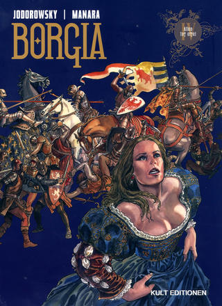 Borgia 4 von Milo Manara