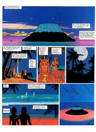 Die Nacht des Sterns von Moebius, Bati