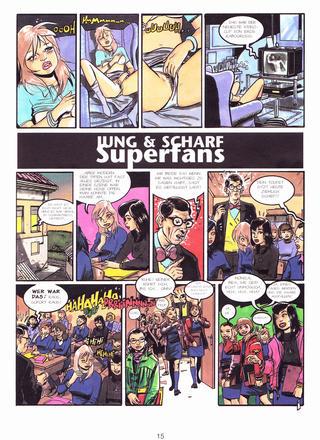 Jung und Scharf Superfans von Monica, Beatriz
