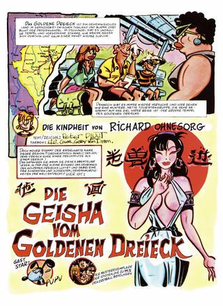 Die Geisha von Goldenen Dreieck von Peter Pluut