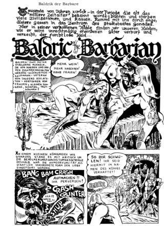 Baldrik der Barbare von Rand Holmes