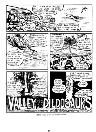 Das Tal der Dildosaurier von Rich Chidlaw