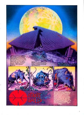 Mutant World von Richard Corben