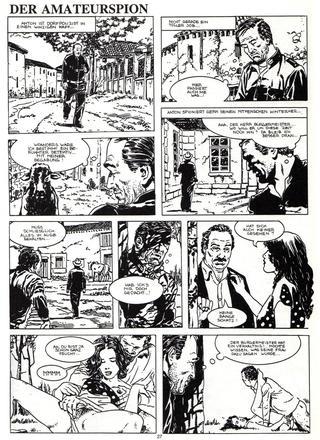 Der Amateurspion von Roberto De Angelis