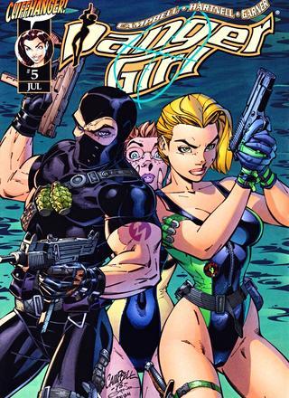 Danger Girl 3 von Scott Campbell, Andy Hartnell, Alex Garner