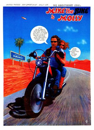 Mike The Bike und Molly 1 von Sergio Macebo