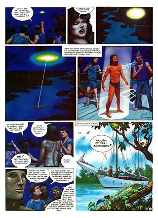 Die Abenteur von vic Voyage Eldorado von Sergio Macebo