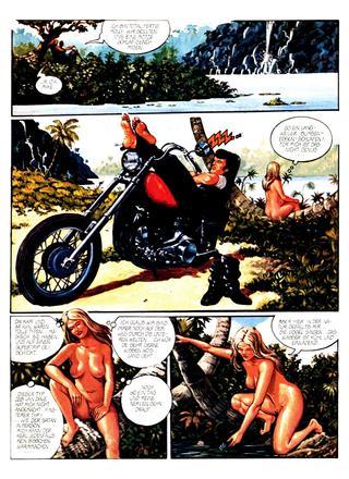 Mike The Bike und Molly 4 von Sergio Macebo