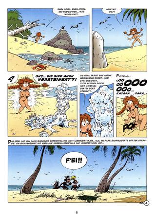 Die Minimadchen Insel der Pinsel von Seron