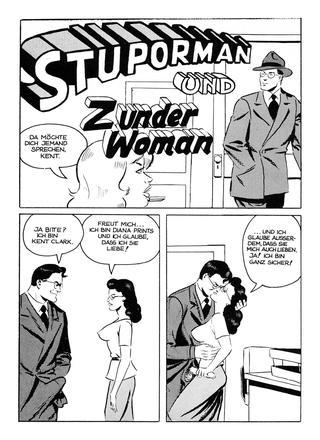 Stuporman und Zunder Woman von Wallace Wood