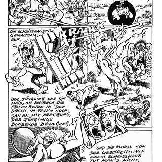 Die Scheisshausballade von Andre Husser