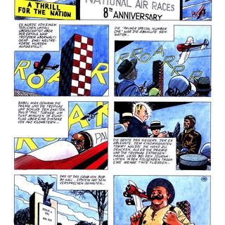 Air Mail 3 Palmer Special Number One von Attilio Micheluzzi