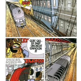 Die Schienenmenschen 1 Die Jaguar-Gang von David Chauvel, Fred Simon