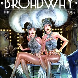 Broadway 2 Eine Strasse In Amerika von Djief