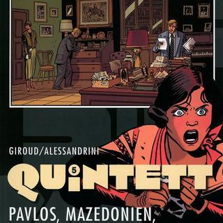 Quintett 5 Pavlos Mazedonien im Herbst 1916 von Franck Giroud, Cyril Bonin