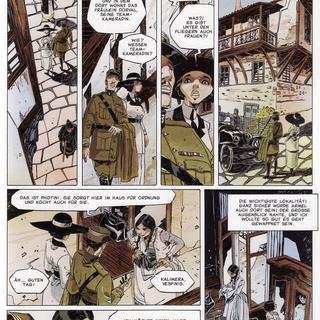 Quintett 1 Die Geschichte der Dora Mars von Franck Giroud, Cyril Bonin