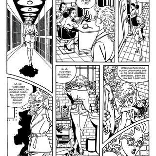 Die Blonde von Franco Saudelli