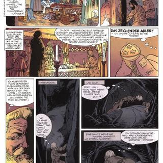 Das Zeichen der Adler 1 Die Nacht der Gaukler von Jean-Charles Kraehn