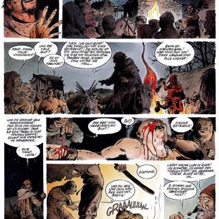 Attila Mon Amour 4 Die Geisel Gottes von Jean-Yves Mitton, Franck Bonnet