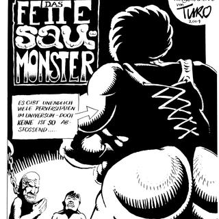 Das Fette Saumonster von Levin Kurio