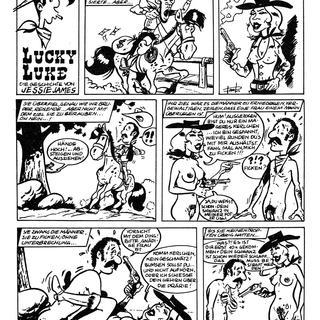 Lucky Luke die Geschichte von Jessie James von Lucky Luke