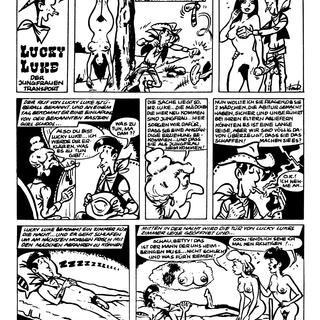 Lucky Luke der Jungfrauen Transport von Lucky Luke