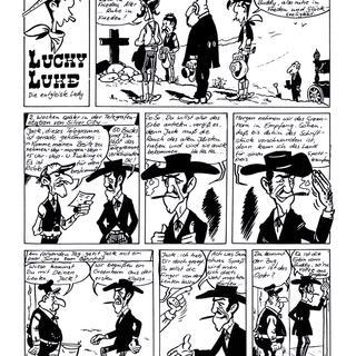 Lucky Luke die entgleiste Lady von Lucky Luke