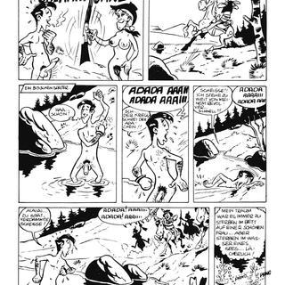 Lucky Luke Belegnet Calamity Jane von Lucky Luke