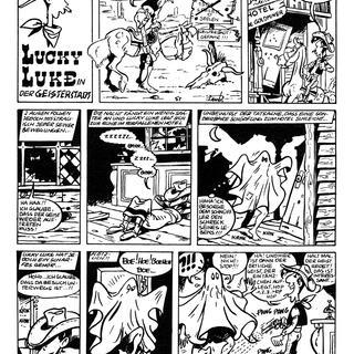 Lucky Luke in der Geisterstadt von Lucky Luke