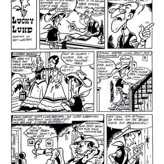 Lucky Luke kommt in den Westen von Lucky Luke