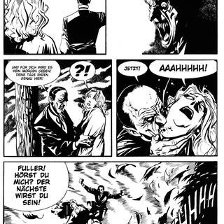 Dampyr 8 Die Daemonische Leinwand von Mauro Boselli
