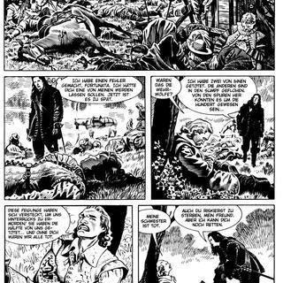 Dampyr 15 Die Werwoelfe von Mauro Boselli