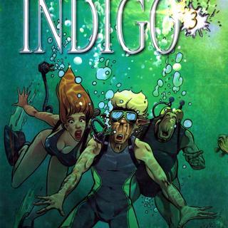 Indigo 3 Im roten Ozean von Robert Feldhoff, Dirk Schulz
